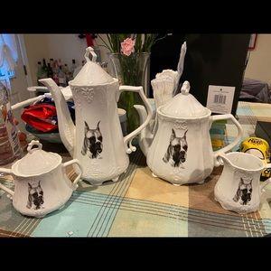Boxer Teapot Set